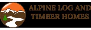 Alpine Log & Timber Homes Logo