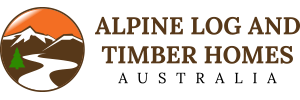 Alpine Log & Timber Homes Logo